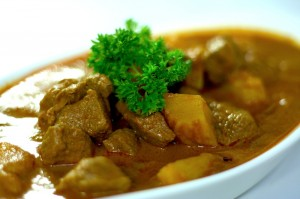 Malaysian Food Lamb Curry