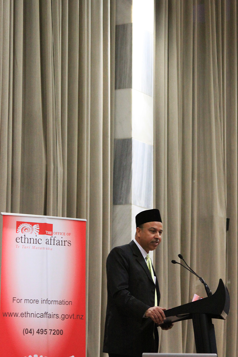 Dr Anwar Ghani_FIANZ President_Eid_Parliament