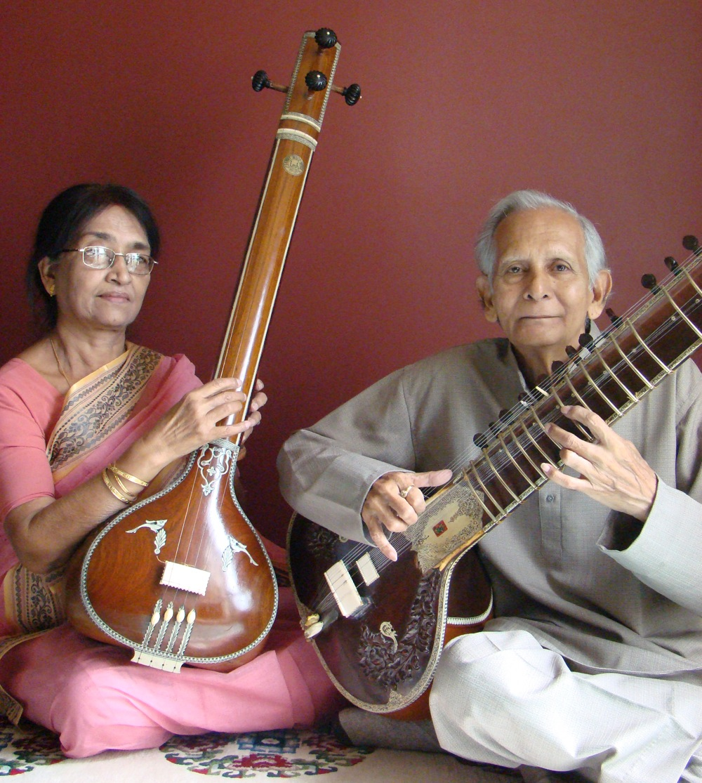 Tulu (left) and Prasanta Bhanja