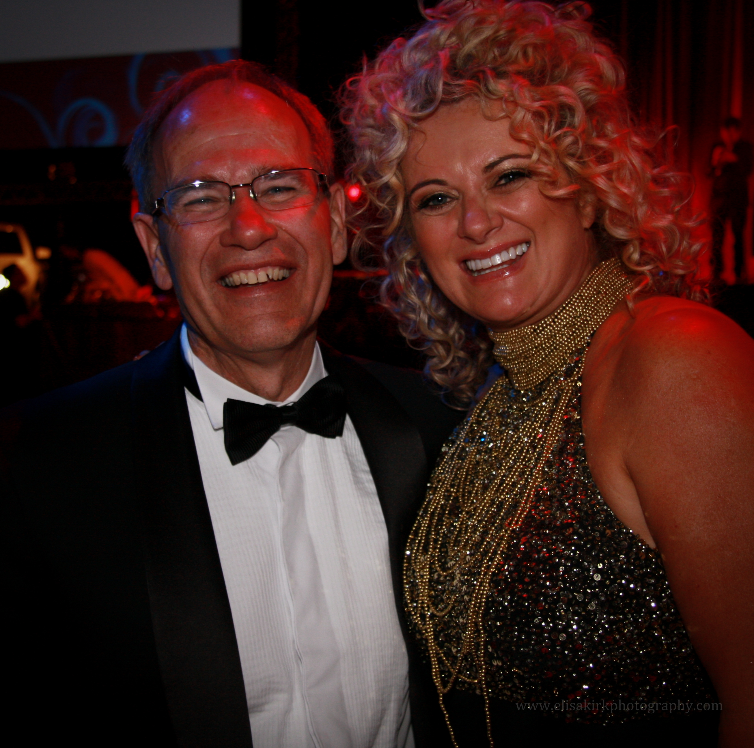 Auckland Mayor Len Brown with his wife