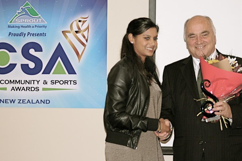 ShareenaNana sportswoman of the year