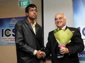 Ayush Bhatnagar Indian Community and sports awards