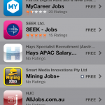 Scam mobile apps for jobs in Australia