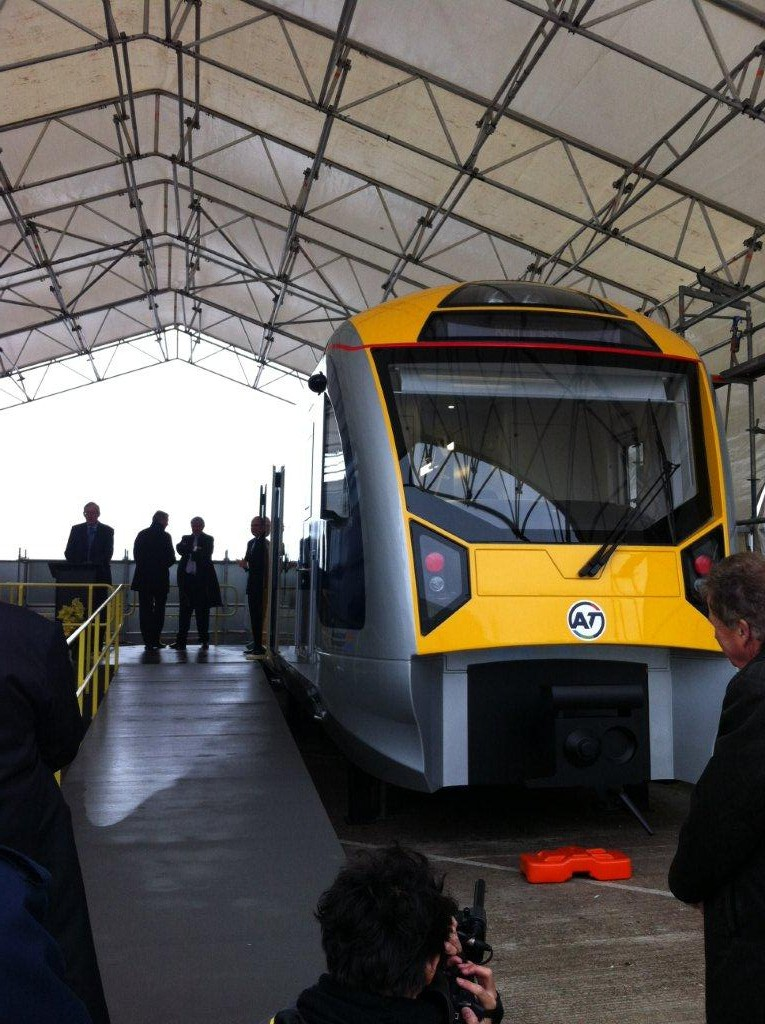 Auckland transport electric trains