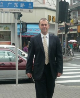 New Zealand Detective Senior Sergeant Hywel Jones in China