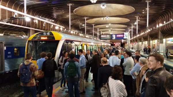 New Auckland trains