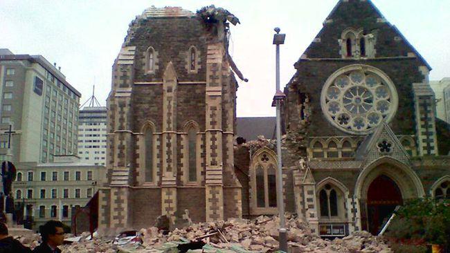 Christchurch Earthquake New Zealand Feb 2011
