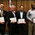 Muslim men awarded for work against family violence