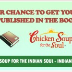 Indian writers get a chance to be published in a book