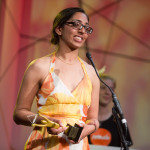Blind woman gets sport award