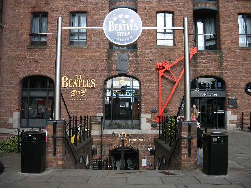 Beatles in Liverpool UK
