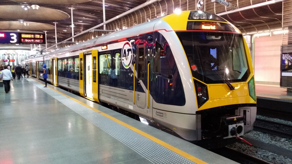 Auckland Trasnports, trains in Auckland